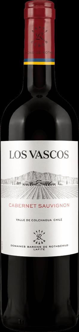 Rotwein Rothschild Lafite Los Vascos Cabernet Sauvignon Colchagua Valley 13,32? pro l