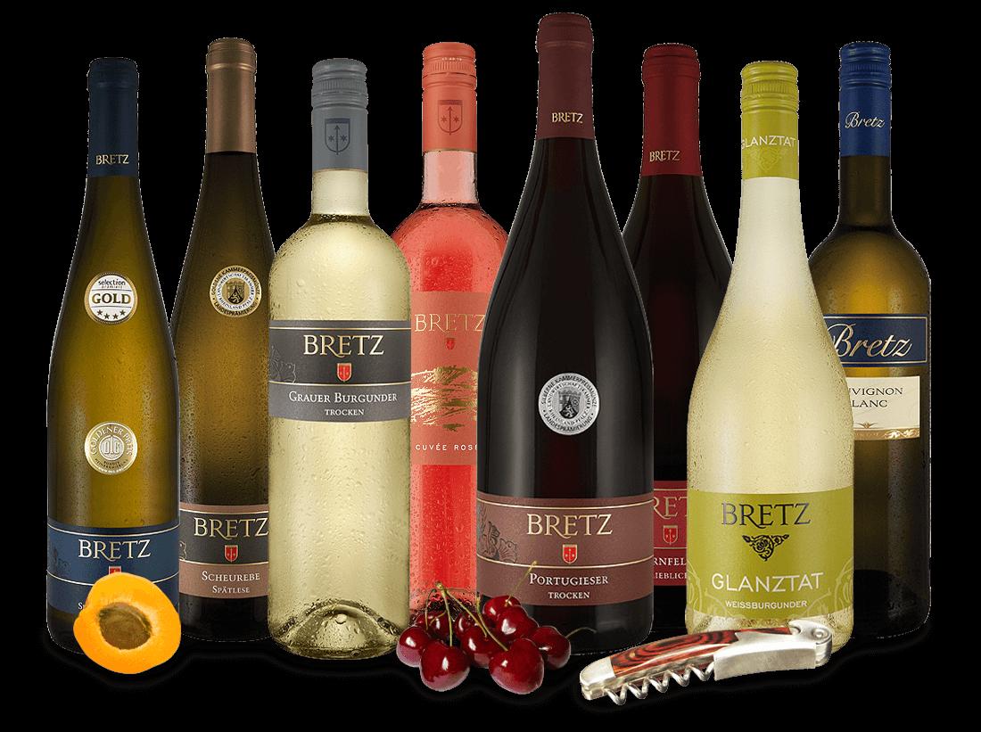 Ernst Bretz Bestseller Wein-Probierpaket8,45€ pro l