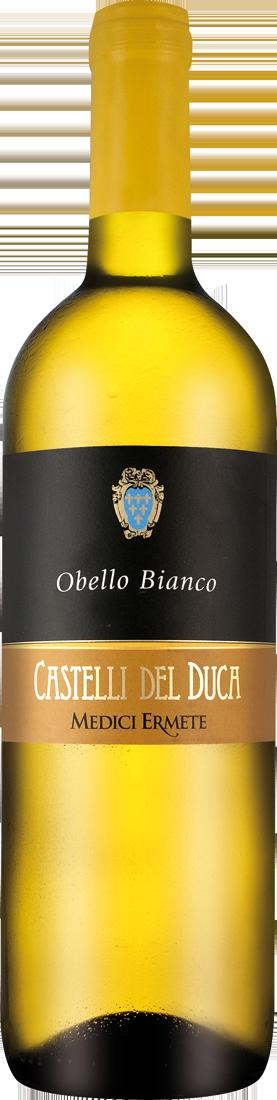Weißwein Medici Ermete Castelli del Duca Obello Bianco lieblich DOC Emilia-Romagna 7,99€ pro l