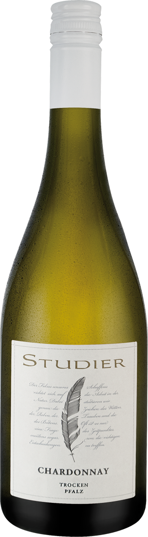 Weißwein Studier Chardonnay trocken QbA Pfalz 1...