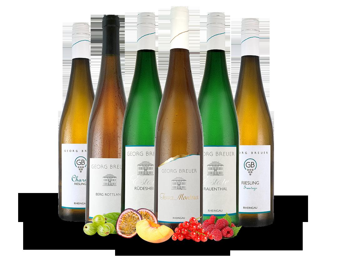 Kennenlernpaket Georg Breuer Edle Rheingau Rieslinge21,11? pro l