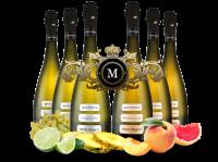 Königliches Duett mit je 3 Flaschen Medici Ermete Quintessenza Spumante
