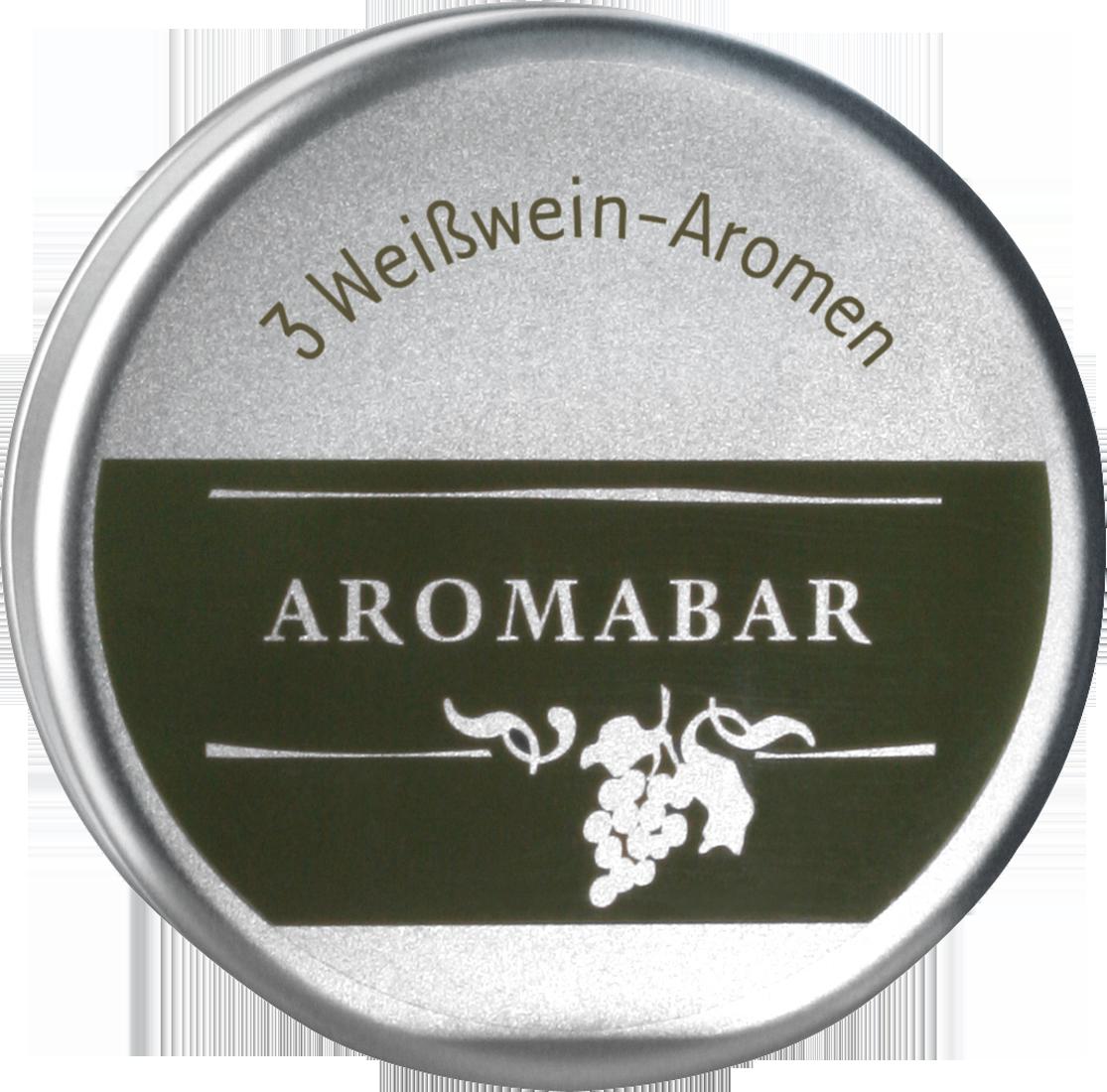 Aromabar Weisswein Schnupperdose