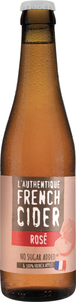 Les Celliers Associés L'Authentique French Cider Rosé 0,33l