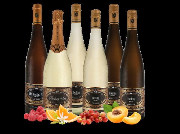 Kennenlernpaket 6 Fl. vom Weingut Wegeler Guts-und Ortsweine