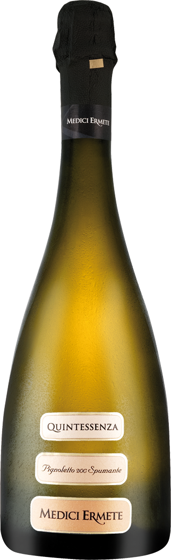 Weißwein Medici Ermete Quintessenza Pignoletto Spumante Brut DOC Emilia-Romagna 9,99€ pro l