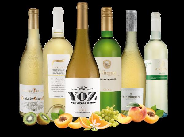 Probierpaket Weißwein-Lieblinge aus Europa