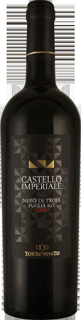 Rotwein Torrevento Nero di Troia Castello Imperiale Puglia IGT Apulien 11,32? pro l