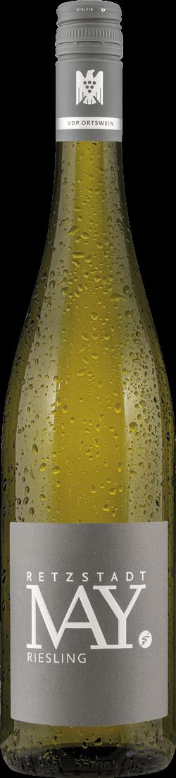 Weißwein Rudolf May Riesling Retzstadt VDP.Ortswein Franken 13,20? pro l