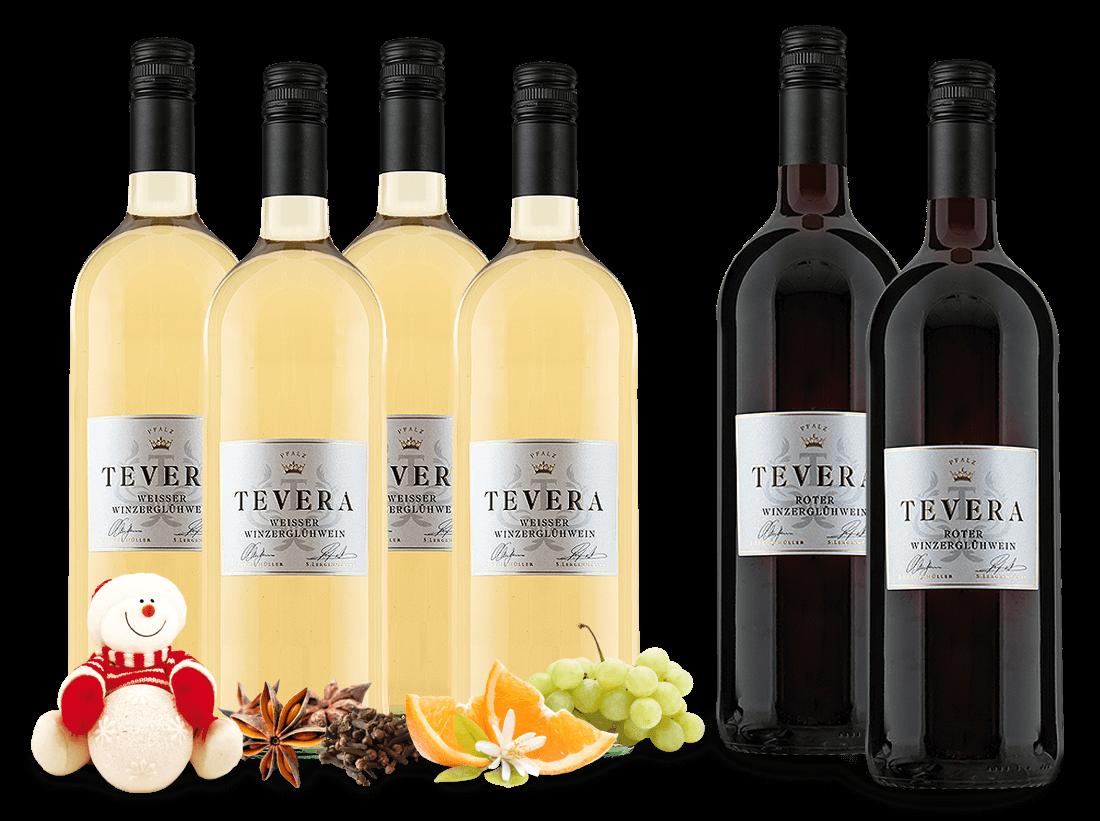 Vorteilspaket Minerva 4 Flaschen Weißer Winzerglühwein mit 2 gratis in rot4,17€ pro l jetztbilligerkaufen