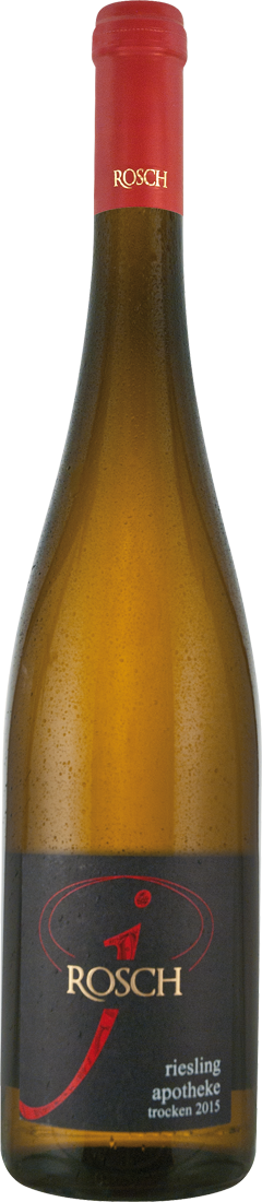 Weißwein Josef Rosch Trittenheimer Apotheke Riesling trocken QbA Mosel 28,00€ pro l - broschei