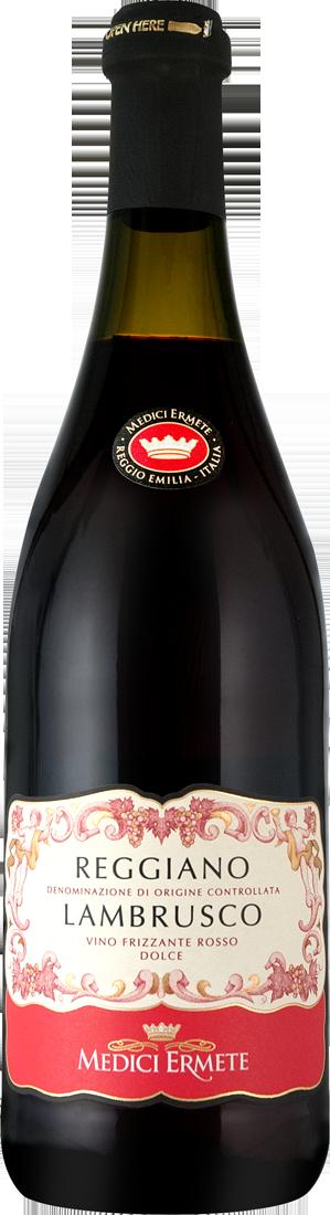 Rotwein Medici Ermete Lambrusco Reggiano Dolce DOC Emilia-Romagna 7,99€ pro l