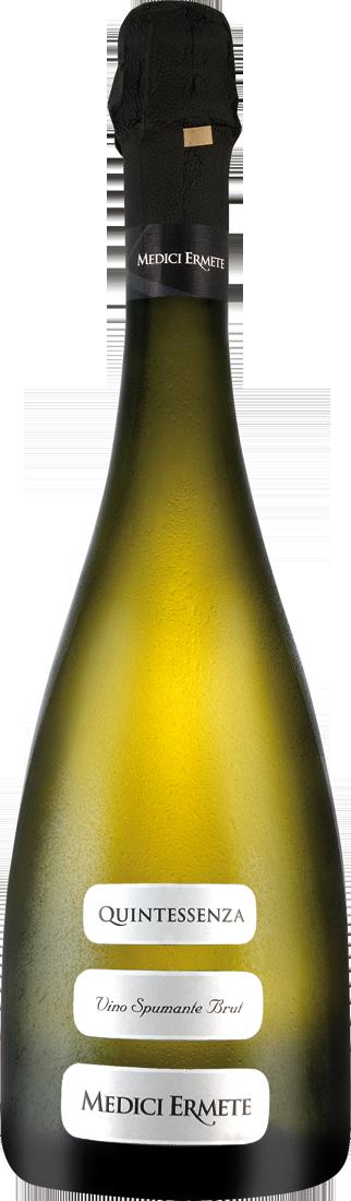 Weißwein Medici Ermete Quintessenza Spumante Brut DOC Emilia-Romagna 10,65€ pro l