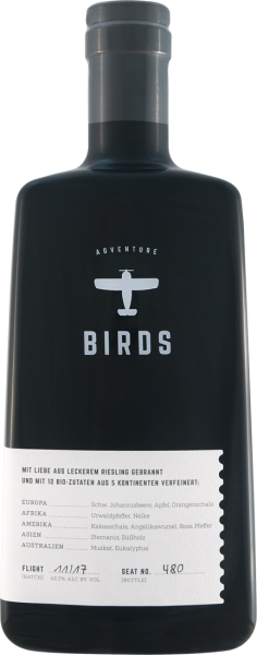 Craft Circus Birds Adventure Weissbrand 42% vol. 0,5l