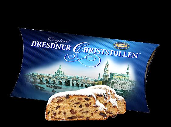 Original Dresdner Christstollen im Präsentkarton 500g