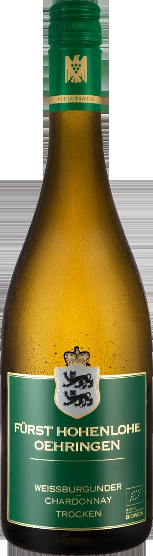 Weißwein Fürst Hohenlohe Oehringen Weissburgunder - Chardonnay VDP.Gutswein Württemberg 10,53? pro l