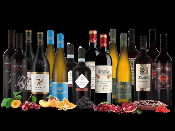 Rüdiger Kleinkes Sommelier-Empfehlungen mit 16 Flaschen