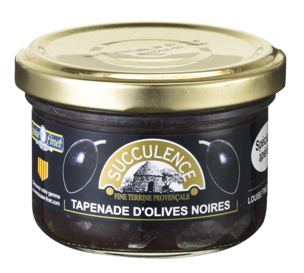 Succulence Tapenade / Olivenpaste schwarz 90 g