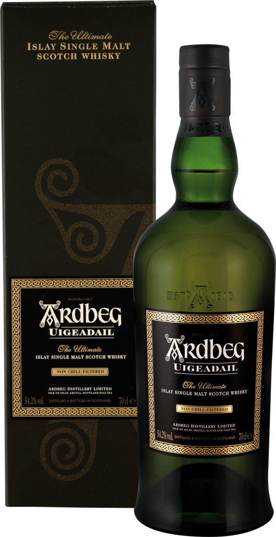 Ardbeg Uigeadail Whisky 54,2% vol. Islay 82,31€ pro l