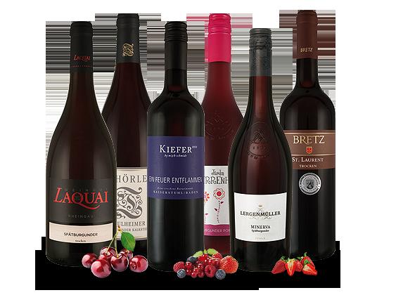 Türkendorf Angebote Vorteilsweinpaket ´´Deutsche Rotweine´´10,89€ pro l