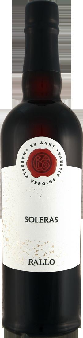 Weißwein Cantine Rallo Soleras Vergine Riserva 20 Ani Marsala DOC 0,5l Sizilien 39,98? pro l