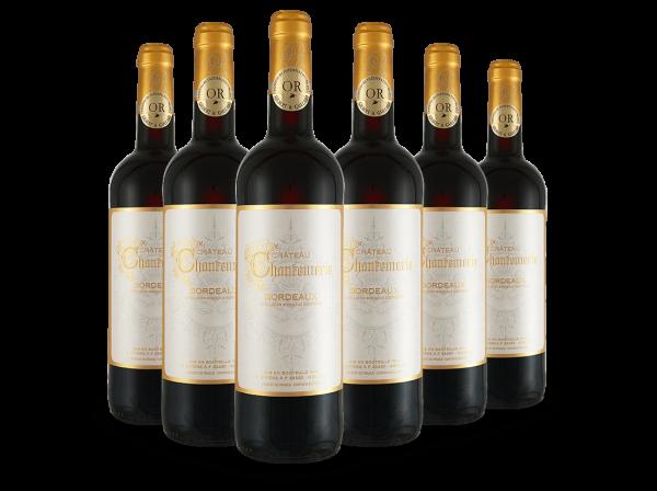Vorteilspaket Château Chantemerle Bordeaux AOC mit 6 Flaschen