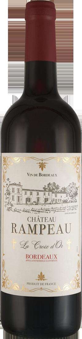 Rotwein Château Rampeau « La Croix dOr » Bordeaux AOC Bordeaux 16,65? pro l
