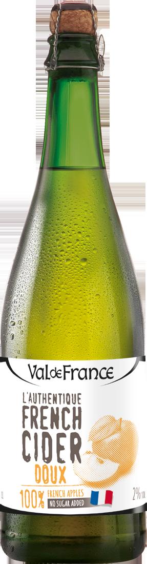 Les Celliers Associés LAuthentique French Cider Doux 2% vol. Bretagne 5,99€ pro l