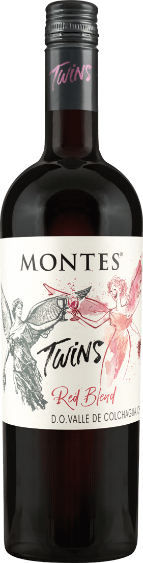 Rotwein Montes Twins Red Blend Valle Central 11,99? pro l