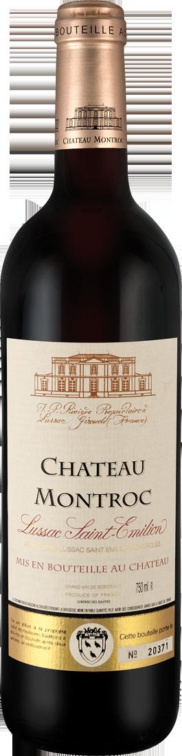 Rotwein Château Montroc Lussac Saint-Émilion AOC Bordeaux 14,65? pro l