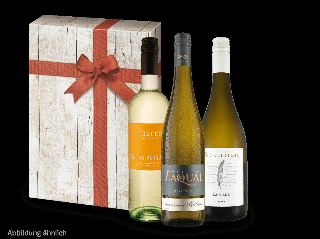 Weißwein Süßes Vergnügen Weingeschenk - Süße Sp...