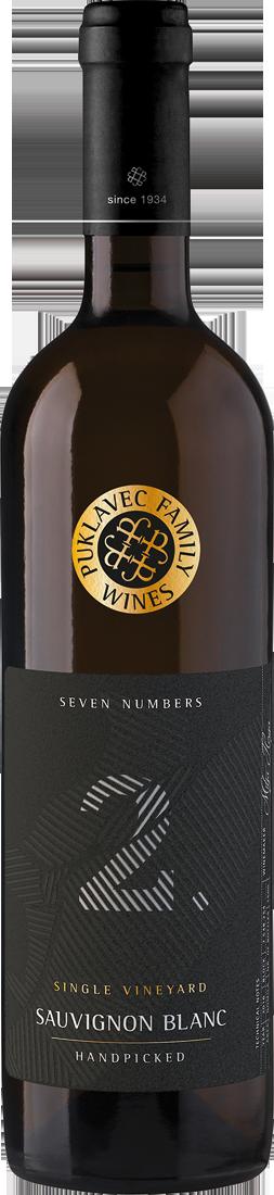 Weißwein Puklavec Seven Numbers Sauvignon Blanc 2 Single Vineyard Ljutomer Ormoz 13,32? pro l