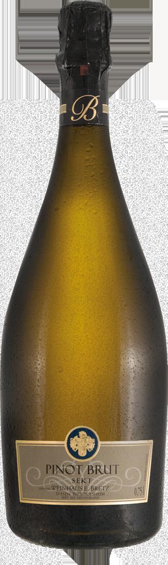 Weißwein Bretz Pinot Sekt brut Rheinhessen 17,20? pro l