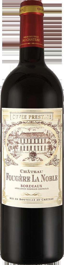 Rotwein Château Fougère La Noble Cuvée Prestige Bordeaux AOC Bordeaux 9,32€ pro l