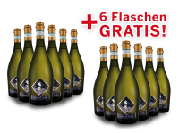 Vorteilspaket 12 für 6 Viticoltori Ponte Prosecco Frizzante Selezione del Re