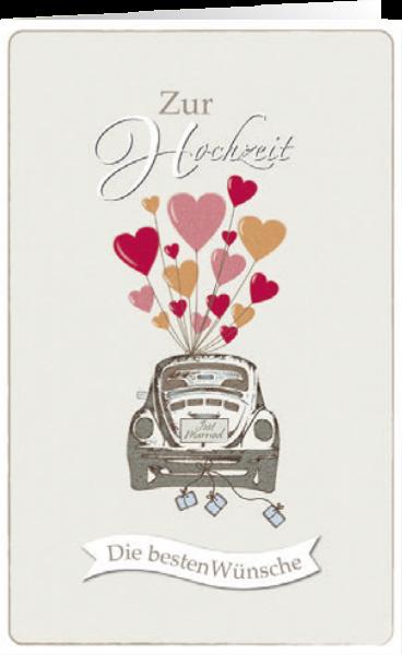 Grußkarte Die Besten Wünsche Zur Hochzeit