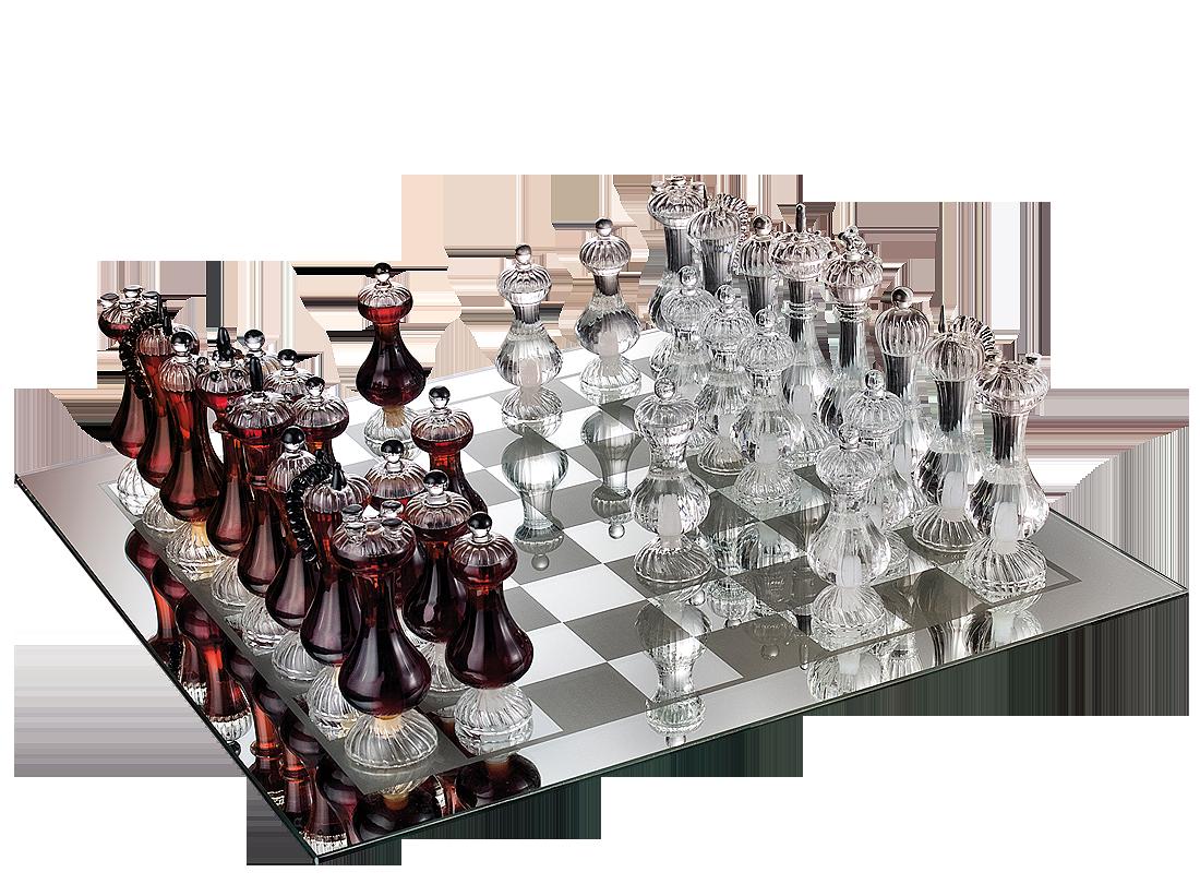 Mazzetti dAltavilla Scacchiera Reale - Luxuriöses Schachspiel mit Grappa Piemont 936,72? pro l