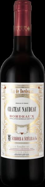 Schröder & Schÿler Château Naudeau Bordeaux Rouge AOC