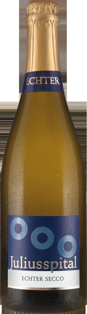 Weißwein Juliusspital ECHTER SECCO Perlwein Franken 9,72€ pro l