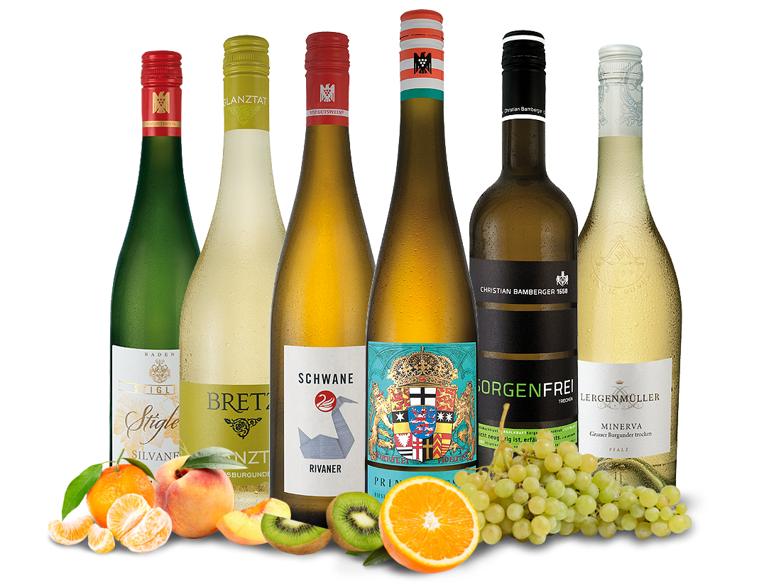 Probierpaket Deutschland - Feine Weine aus beliebten Weinregionen9,98€ pro l