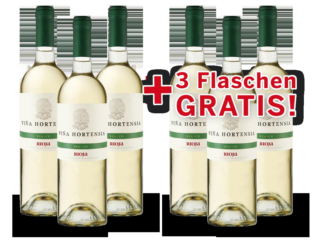 Vorteilspaket 6 für 3 Viña Hortensia Rioja Preferido Blanco7,99? pro l