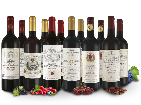 Probierpaket Classic Bordeaux Selection