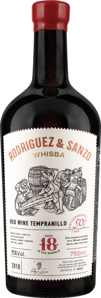 Javier Rodriguez Rodriguez & Sanzo Tempranillo Whisky-Fass D.O.