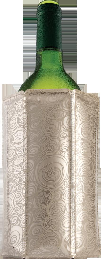 Vacu Vin Weinkühler Platinum Manschette - broschei