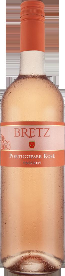 Roséwein Ernst Bretz Portugieser Rosé trocken QbA Rheinhessen 8,65? pro l