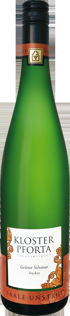 Weißwein Kloster Pforta Grüner Silvaner QbA Saale-Unstrut 11,84? pro l