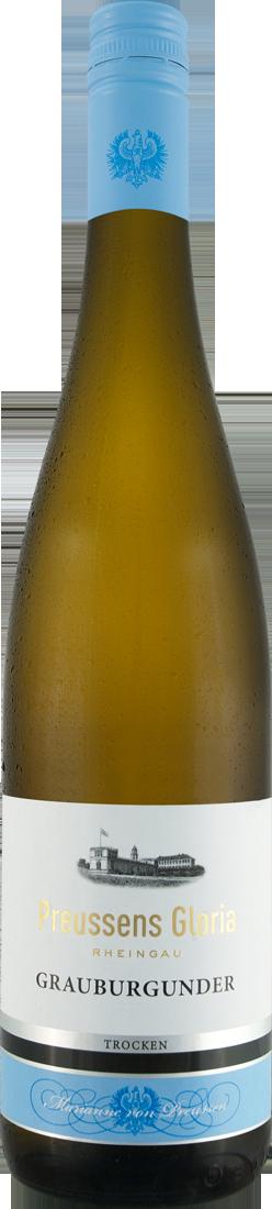 Weißwein Prinz von Preussen Rheingau Grauburgunder Preussens Gloria QbA Rheingau 9,20€ pro l