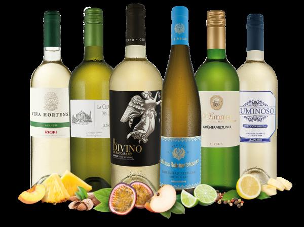 Vorteilspaket Weißwein-Schätze entdecken