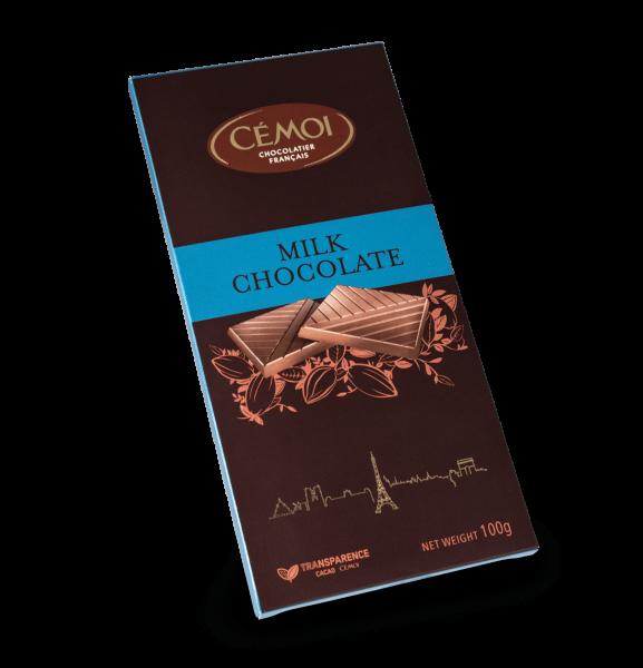 Cémoi Vollmilchschokolade 34% Kakao 100g