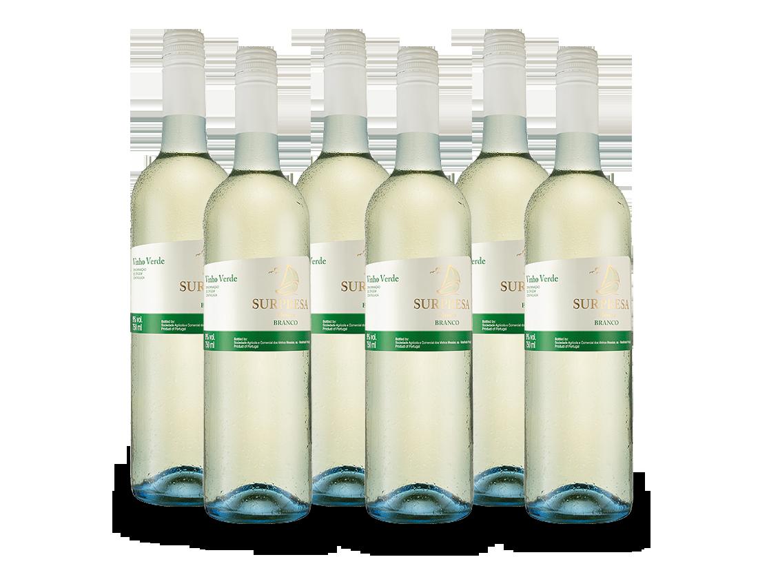 Vinho Verde Messias Surpresa Vorteilspaket 6 Flaschen7,76€ pro l